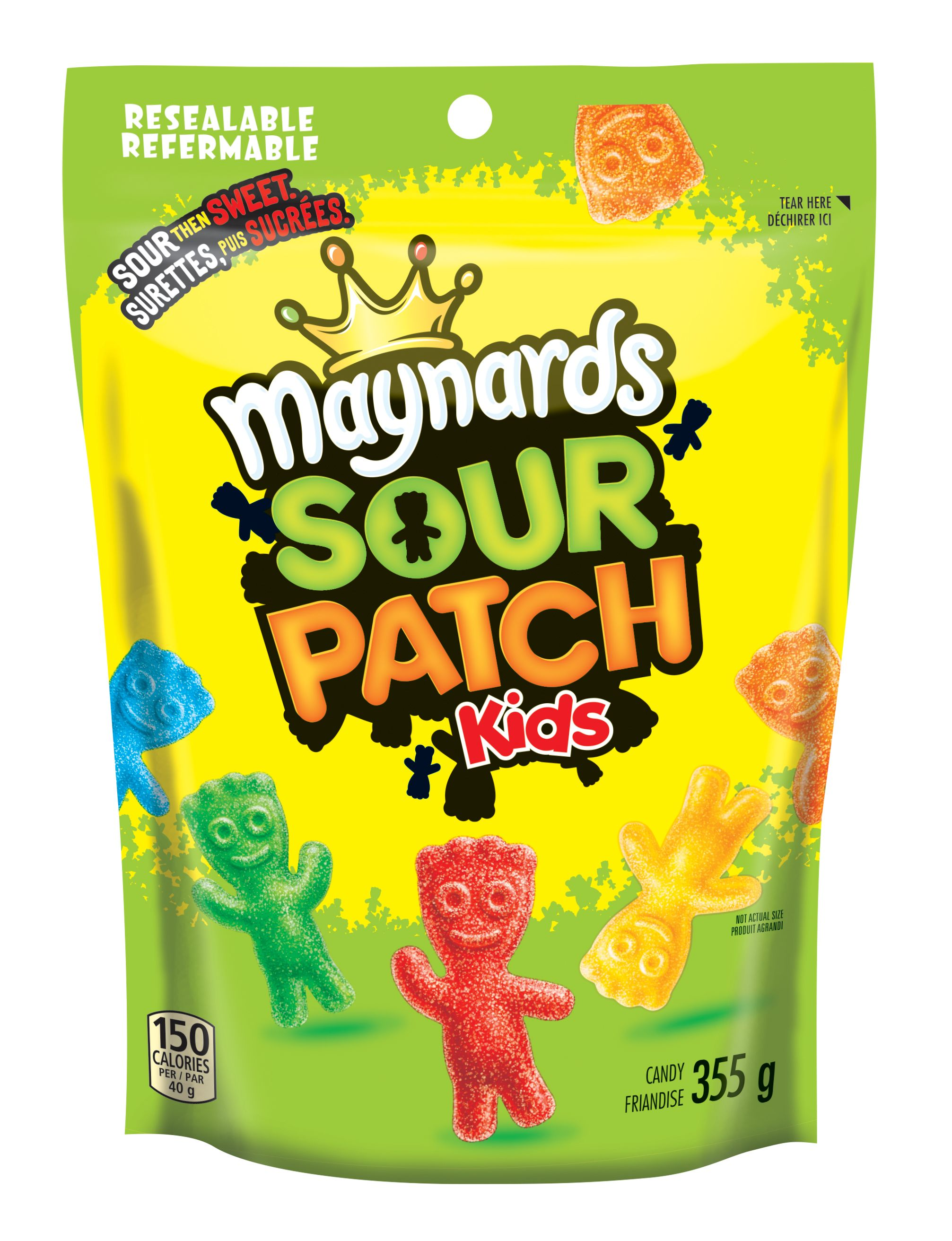 Maynards Sour Patch Kids Kids Friandise Molle 355 G