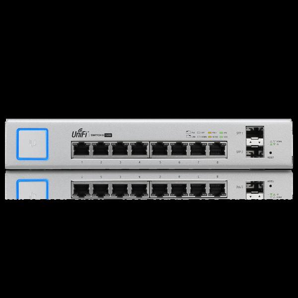 UniFi 8Ports 150W Switch Wave Electronics