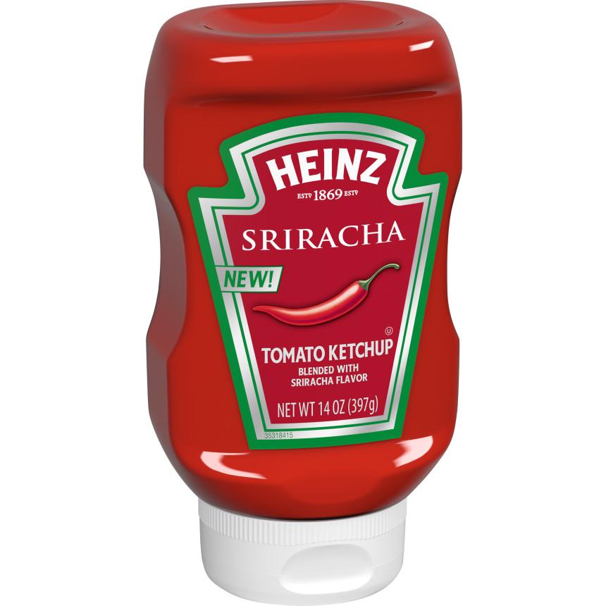 Heinz Sriracha Tomato Ketchup 14 oz. Bottle