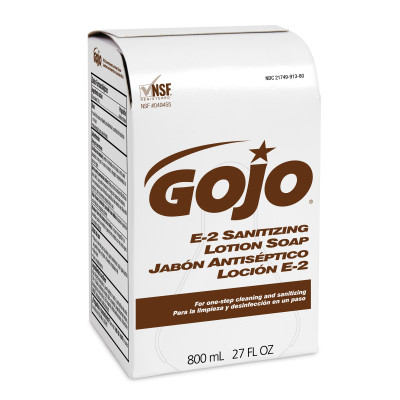 GOJO® E-2 Sanitizing Lotion Soap