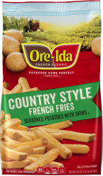 Ore-Ida Country Style French Fries 30 oz Bag image