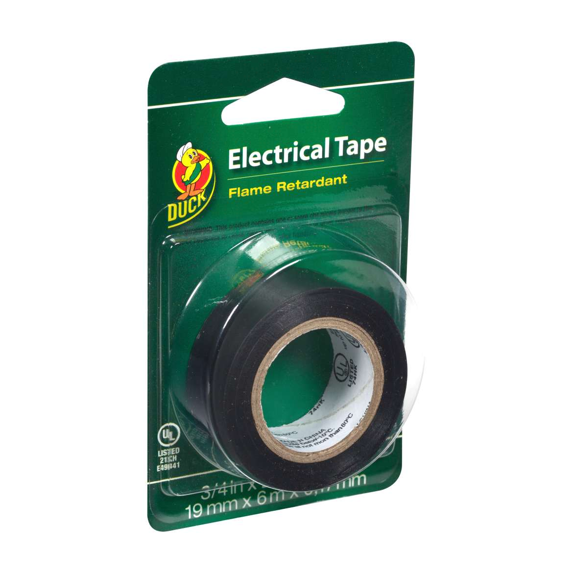 Duck® Brand Professional Electrical Tape - Black, .75 in. x 20 ft. x 7 mil. Image