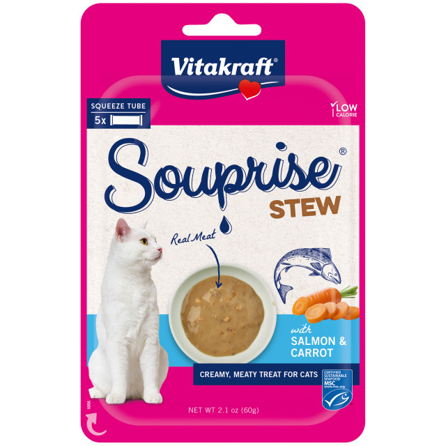 Product-Image showing Souprise® Stew, Salmon and Carrot, 5 Pack