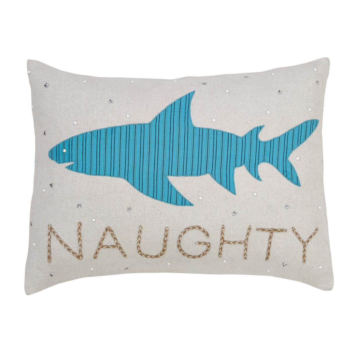 Nerine Shark Pillow 14x18