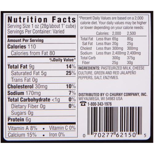HOFFMAN'S Pepperjack 10 lb. Loaf (Pack of 1)