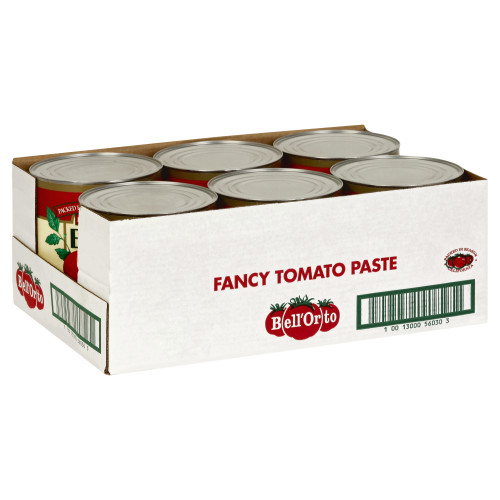 BELL ORTO Tomato Paste, 111 oz. Can (Pack of 6)