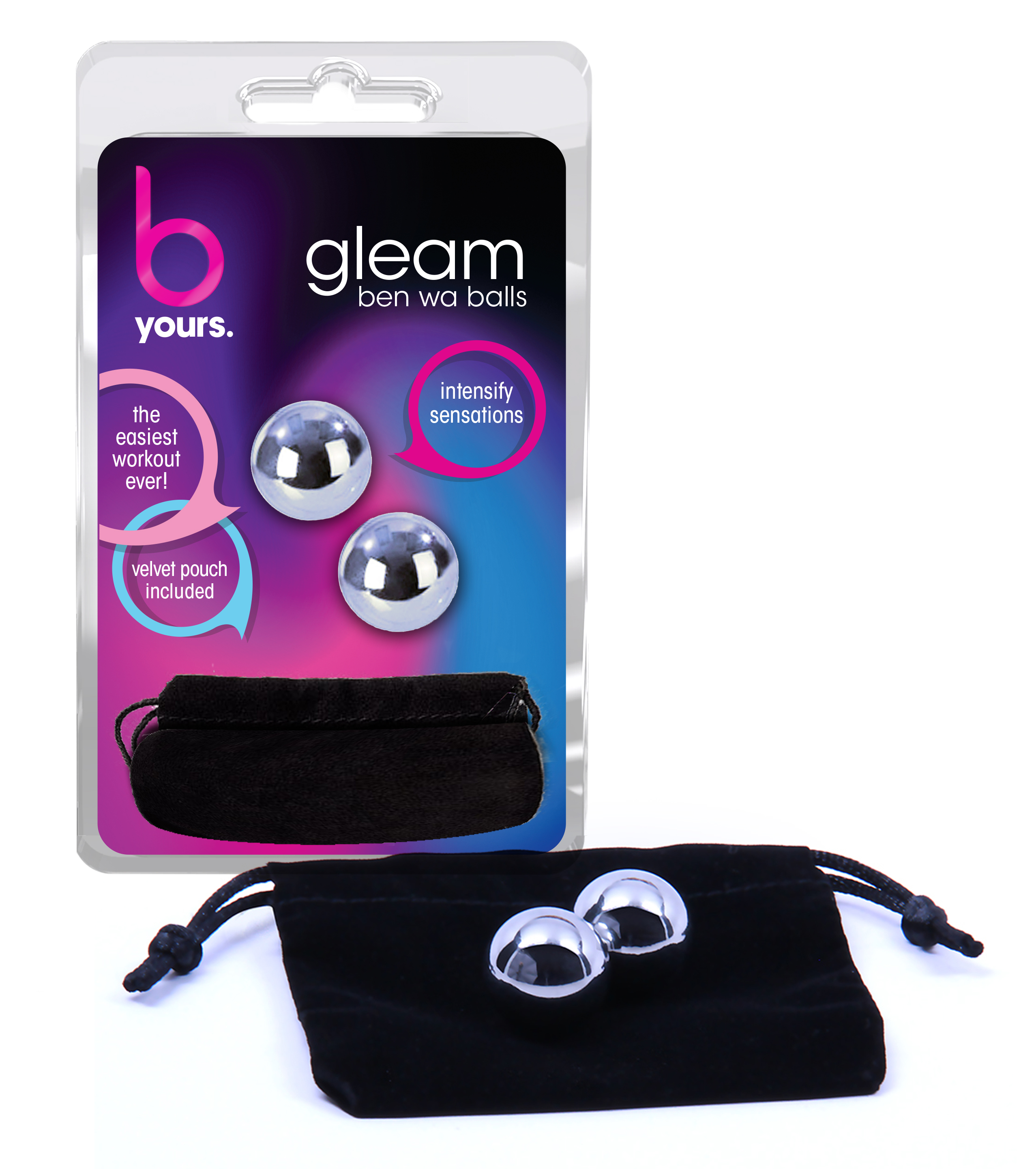 B Yours -  Gleam Stainless Steel Kegel Balls
