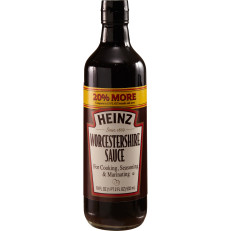 Heinz Worcestershire Sauce, 18 fl oz Bottle image