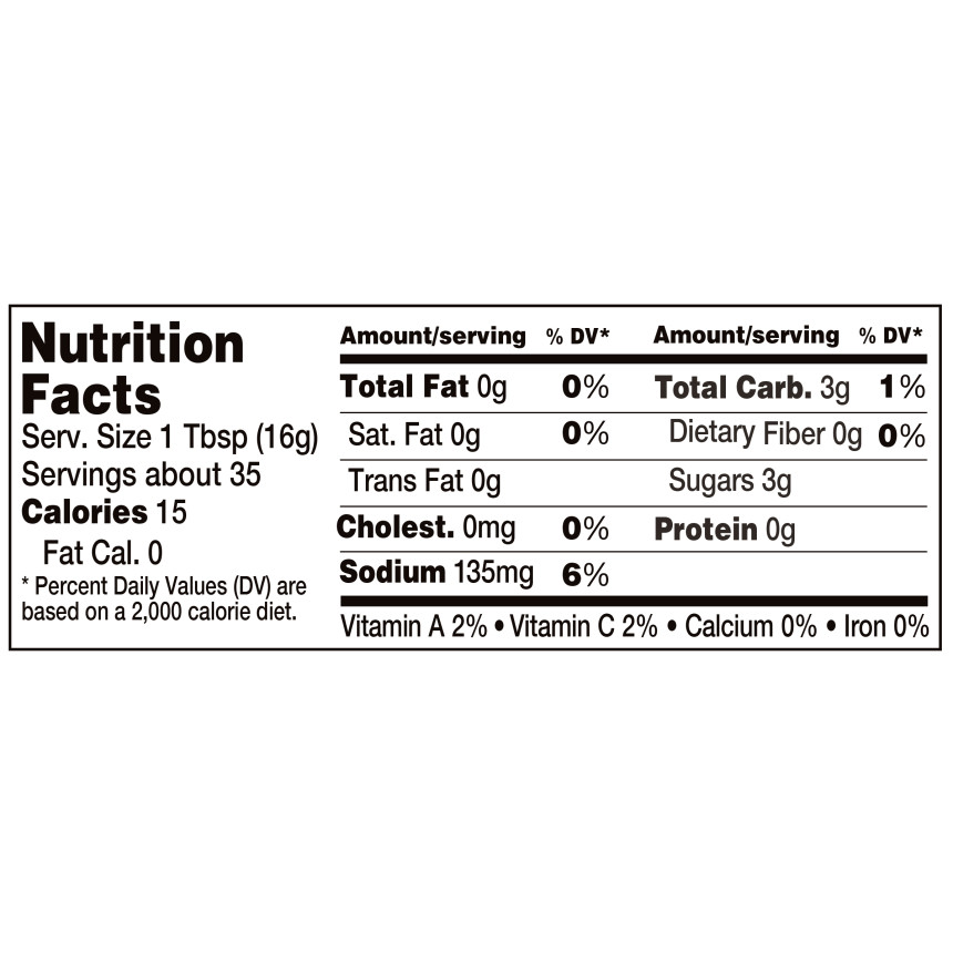 Heinz Sweetened with Honey Reduced Sugar Tomato Ketchup, 19.5 oz Bottle