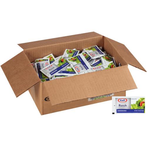 KRAFT Single Serve Ranch Salad Dressing, 0.44 oz. Packets (Pack of 200)