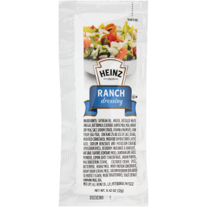 HEINZ Single Serve Ranch, 12 gr. Packets (Pack of 200) image