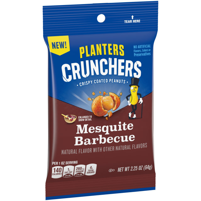 Planters Crunchers Mesquite BBQ