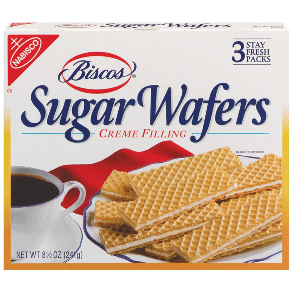 BISCOS Sugar Wafers Original Cookies 8.5 oz