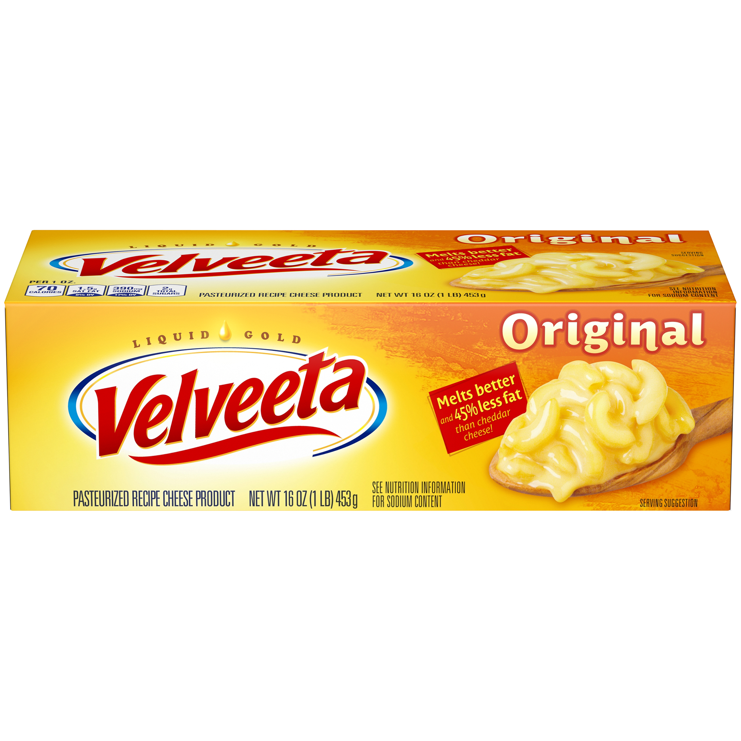 Velveeta Original Cheese 16 Oz Box