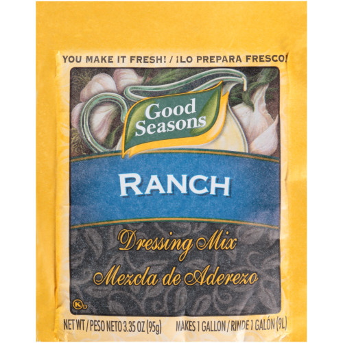 GOOD SEASONS Dry Ranch Salad Dressing Mix, 3.35 oz. Packet (Pack of 20)