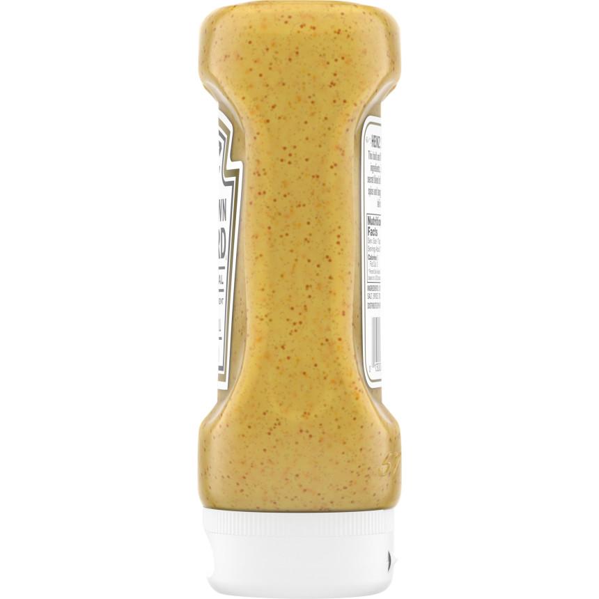 Heinz Spicy Brown Mustard, 14 oz Bottle
