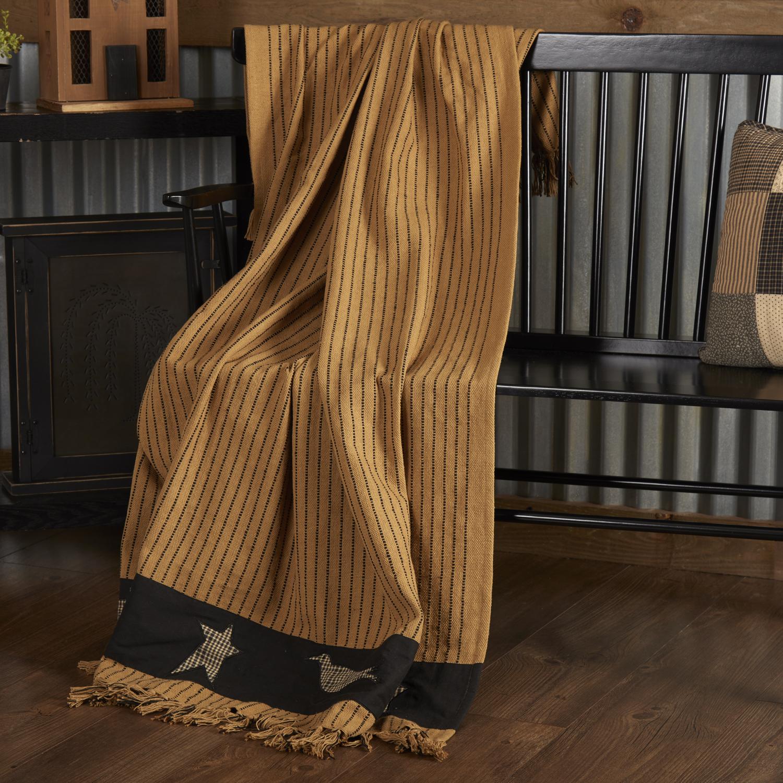 Kettle Grove Applique Throw Woven 60x50