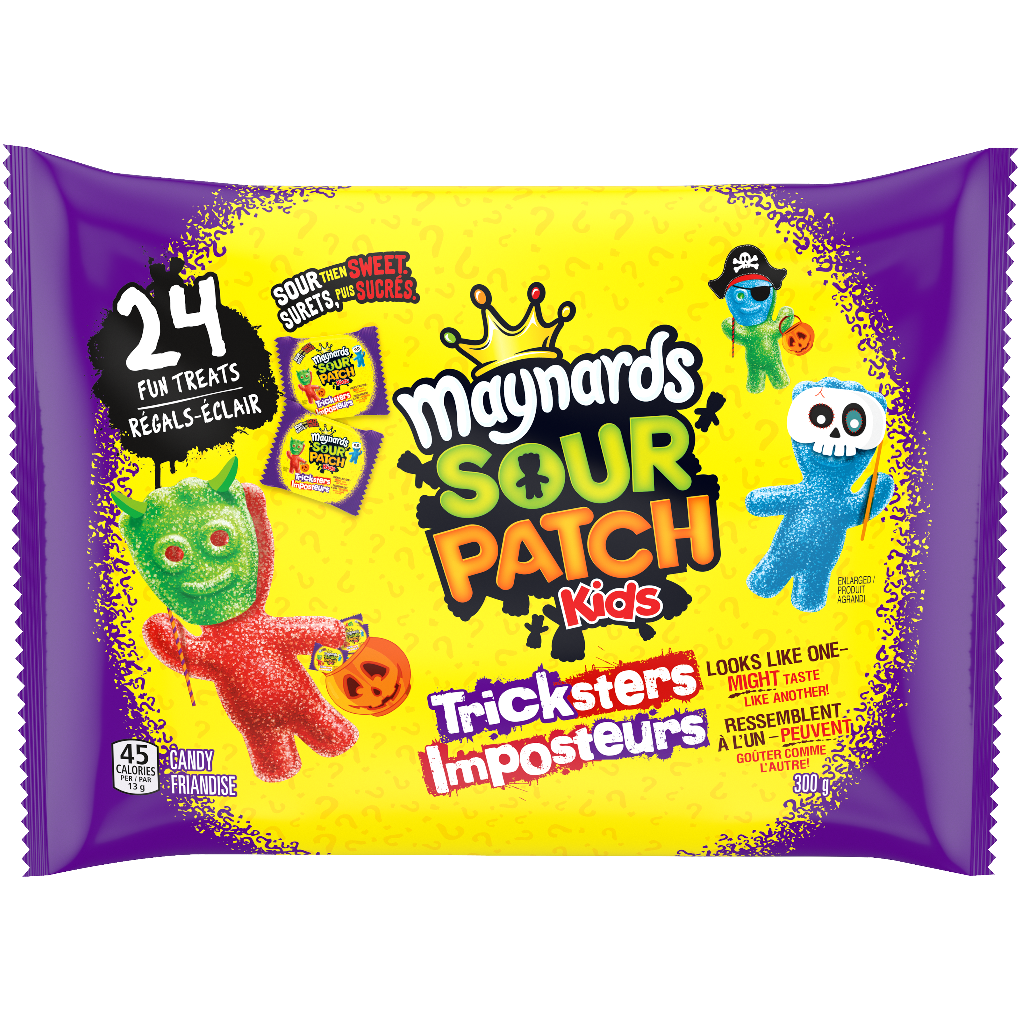 Maynards Sour Patch Kids Tricksters Friandise Molle 300 G
