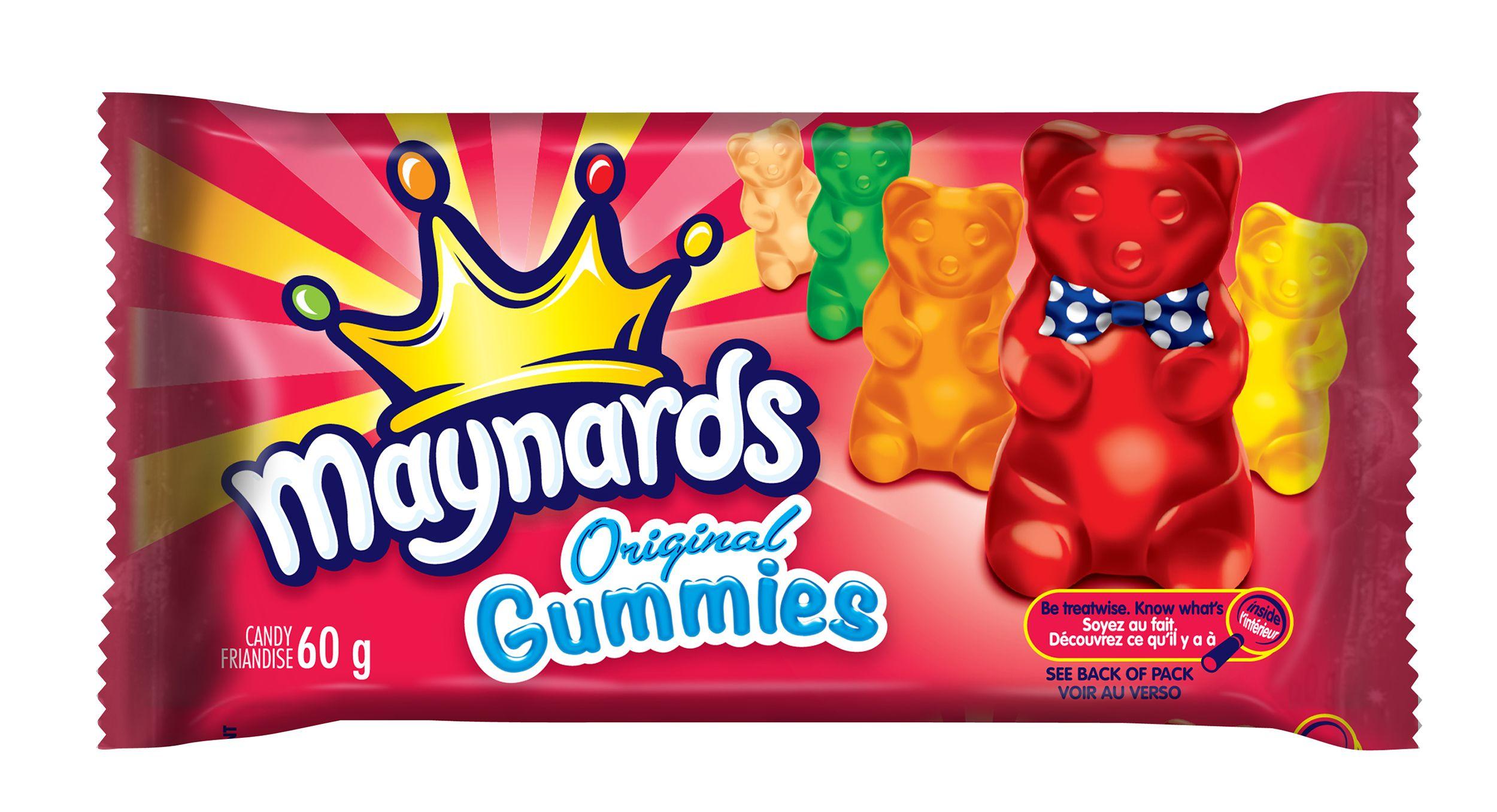 MAYNARDS Original Gummies ASSORTED 60 GRM