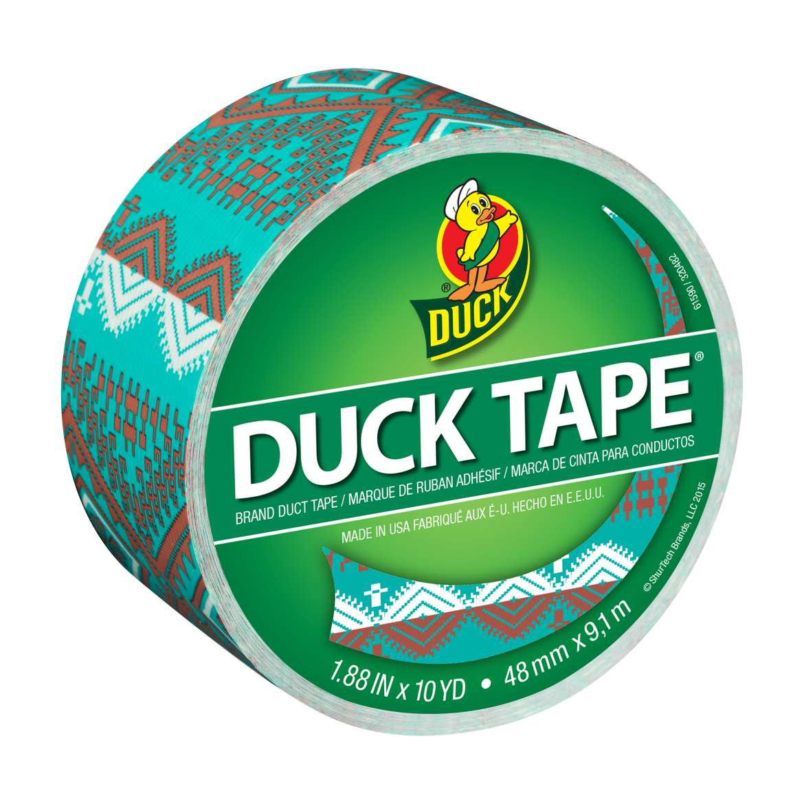 Printed Duck Tape® Brand Duct Tape - Desert Stars, 1.88 in. x 10 yd. Image