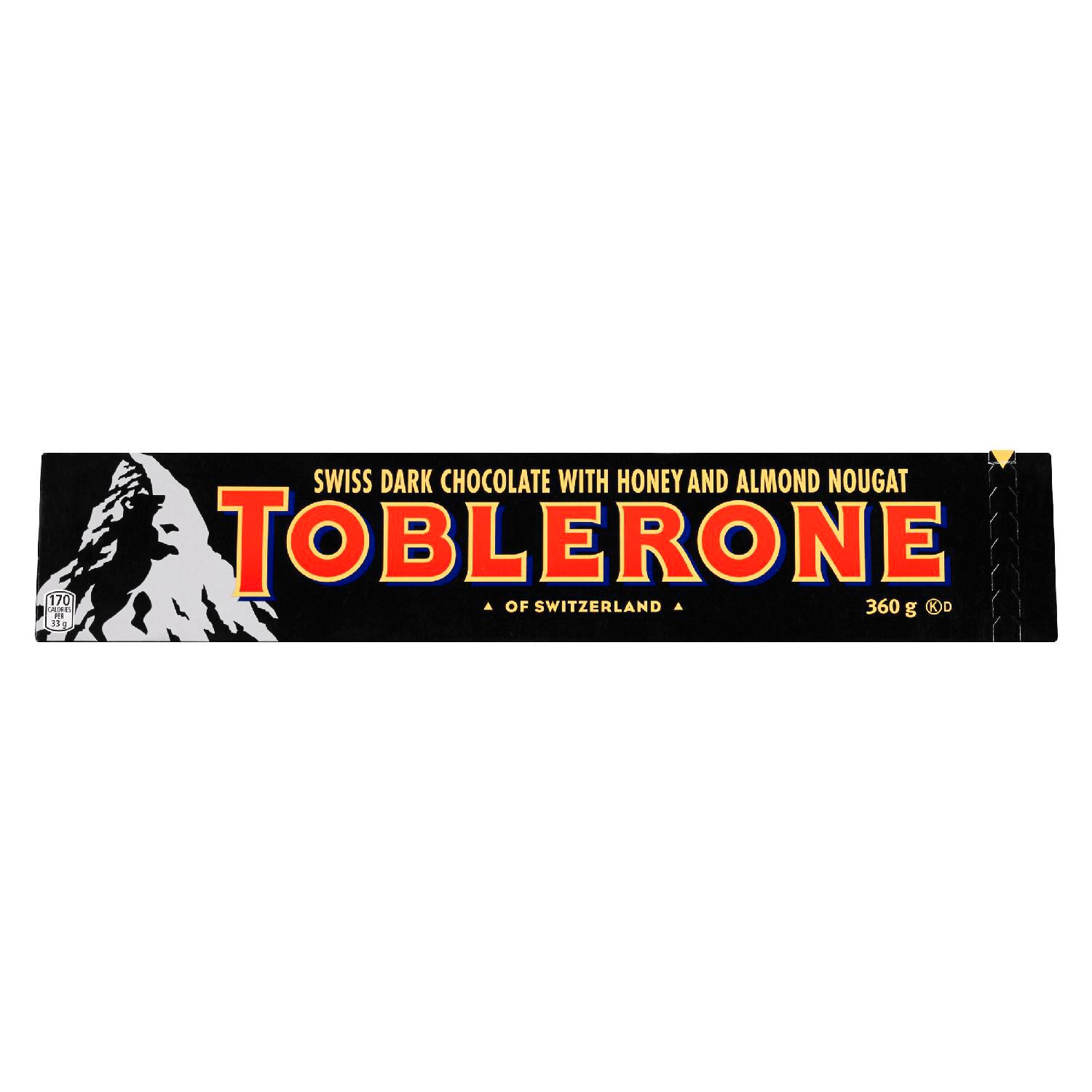 Toblerone Dark Chocolate Bar 360 G