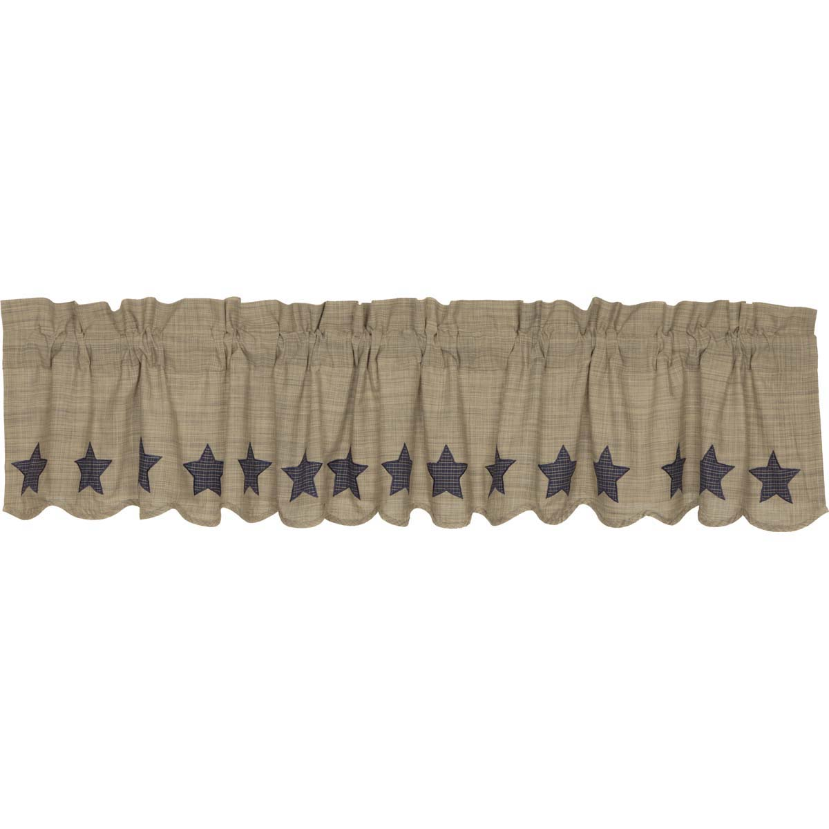 Vincent Scalloped Valance 16x90