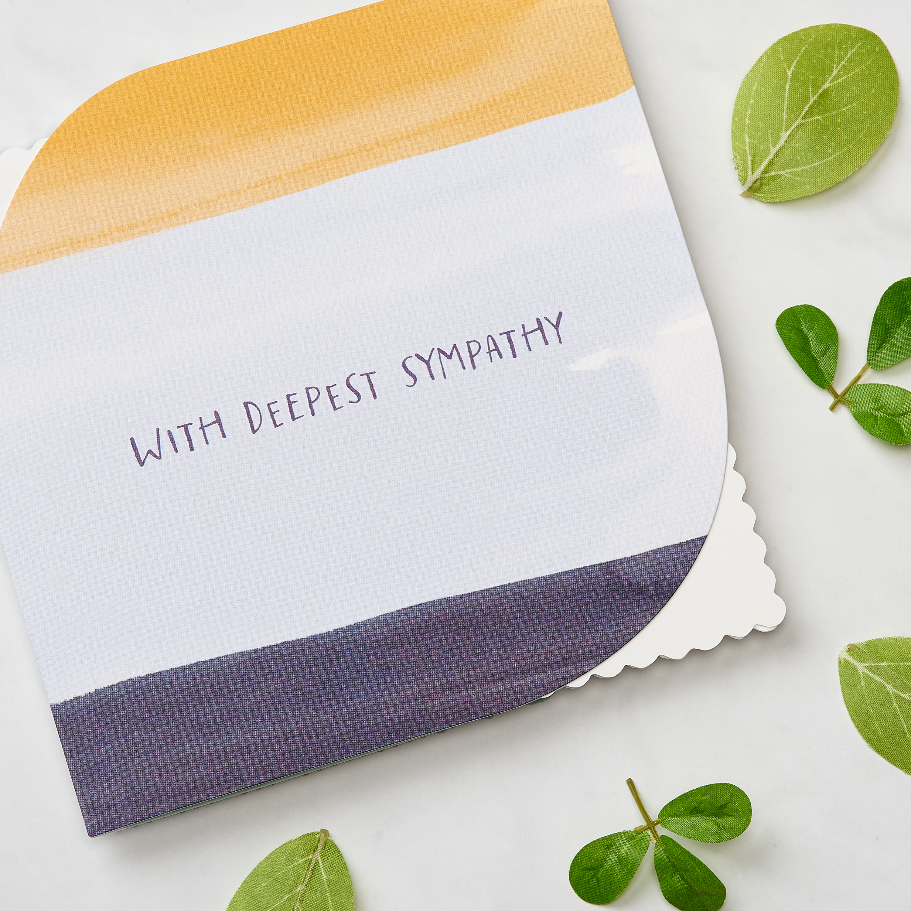 Deepest Sympathy Greeting Card image
