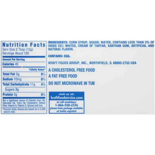 JET-PUFFED Marshmallow Crème, 48 oz. Tub