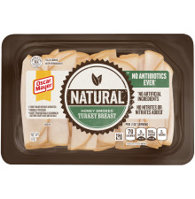 OSCAR MAYER Natural Honey Smoked Turkey Breast 8 oz