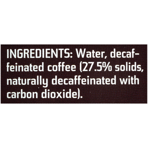 MAXWELL HOUSE 100% Colombian Decaf Frozen Liquid Coffee, 1 L. Can (Pack of 4)