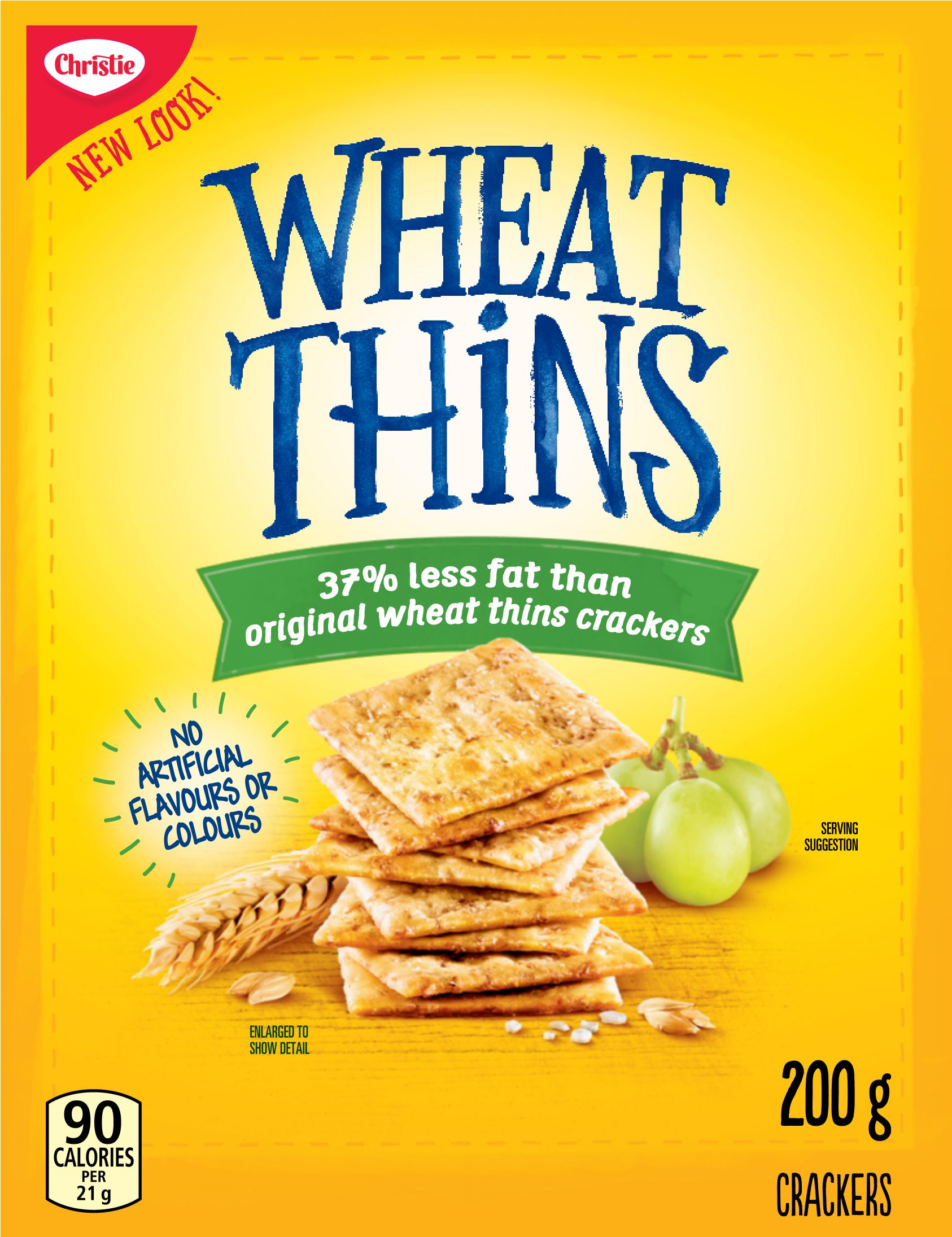 Wheat Thins Craquelins Faible en Gras 200 G