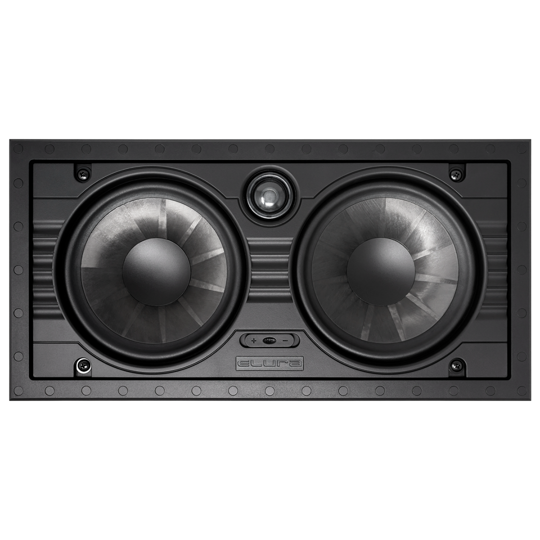 "6.5"" Dual In-Wall LCR Speaker Wave Electronics"