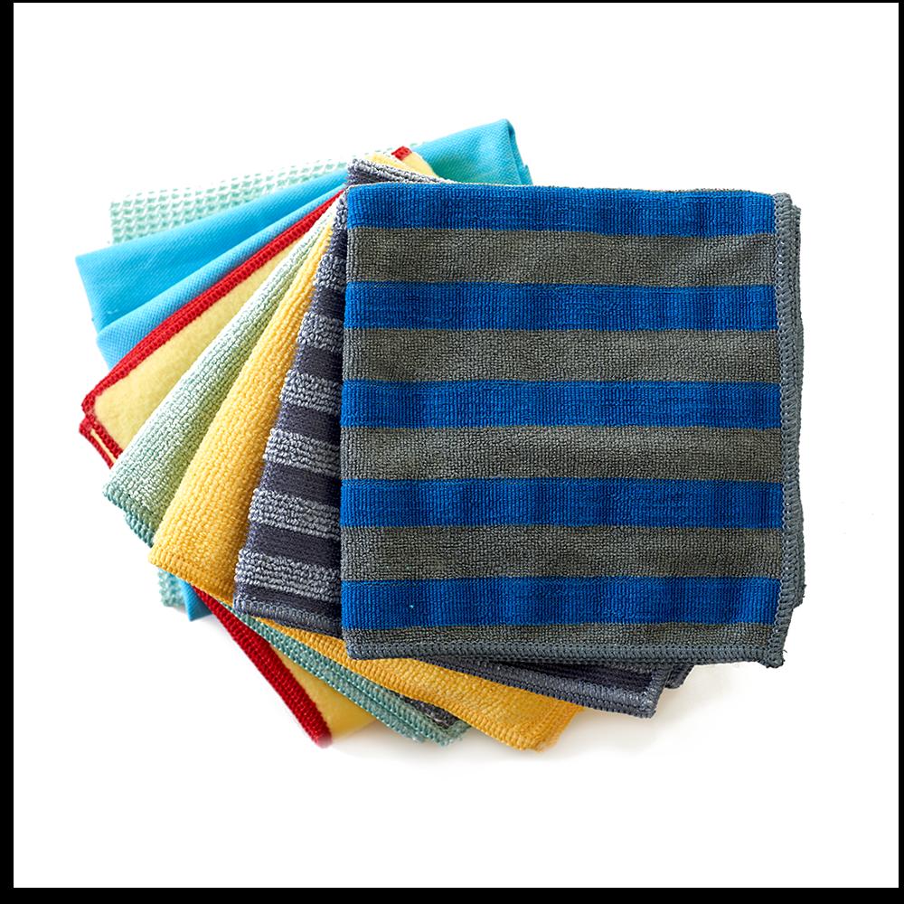 e-Cloth8 Cloth Home Cleaning Set