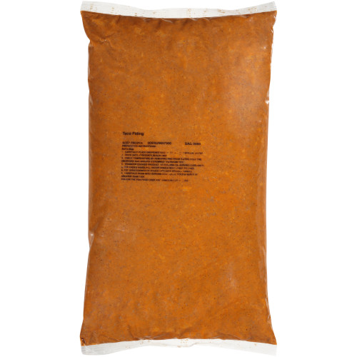 QUALITY CHEF Beef Taco Filling, 8 lb. Frozen Bag (Pack of 4)