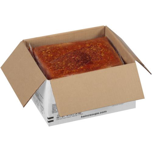 HEINZ Reduced Sodium Masala Tomato Lentil Soup, 4  Bag (Pack of 4)