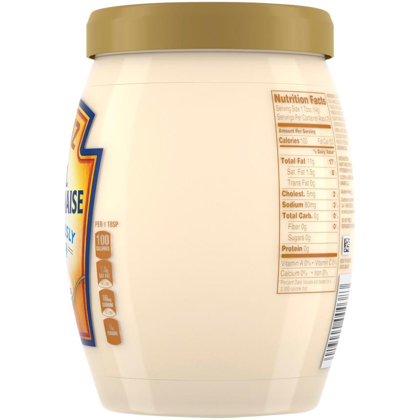 Heinz Real Mayonnaise, 15 fl oz Jar