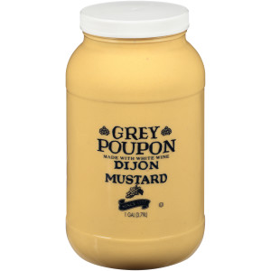 GREY POUPON Dijon Mustard, 1 gal. Jugs (Pack of 2) image