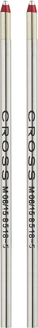 Mini Ballpoint Pen Refill - Red - Medium - Dual Pack