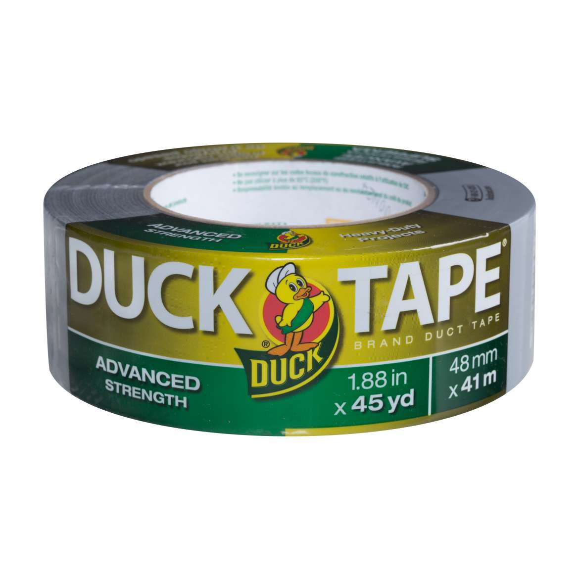 Advanced Strength Duck Tape® Brand Duct Tape - Silver, 1.88 in. x 45 yd. Image