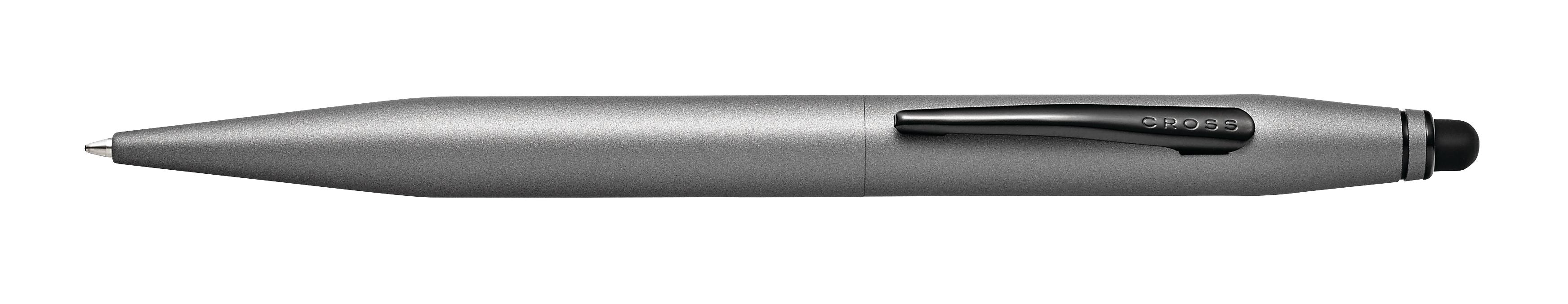 Tech 2 Titanium Gray Ballpoint Pen with Stylus
