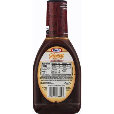 Kraft Honey Barbecue Sauce 17.5 oz Bottle