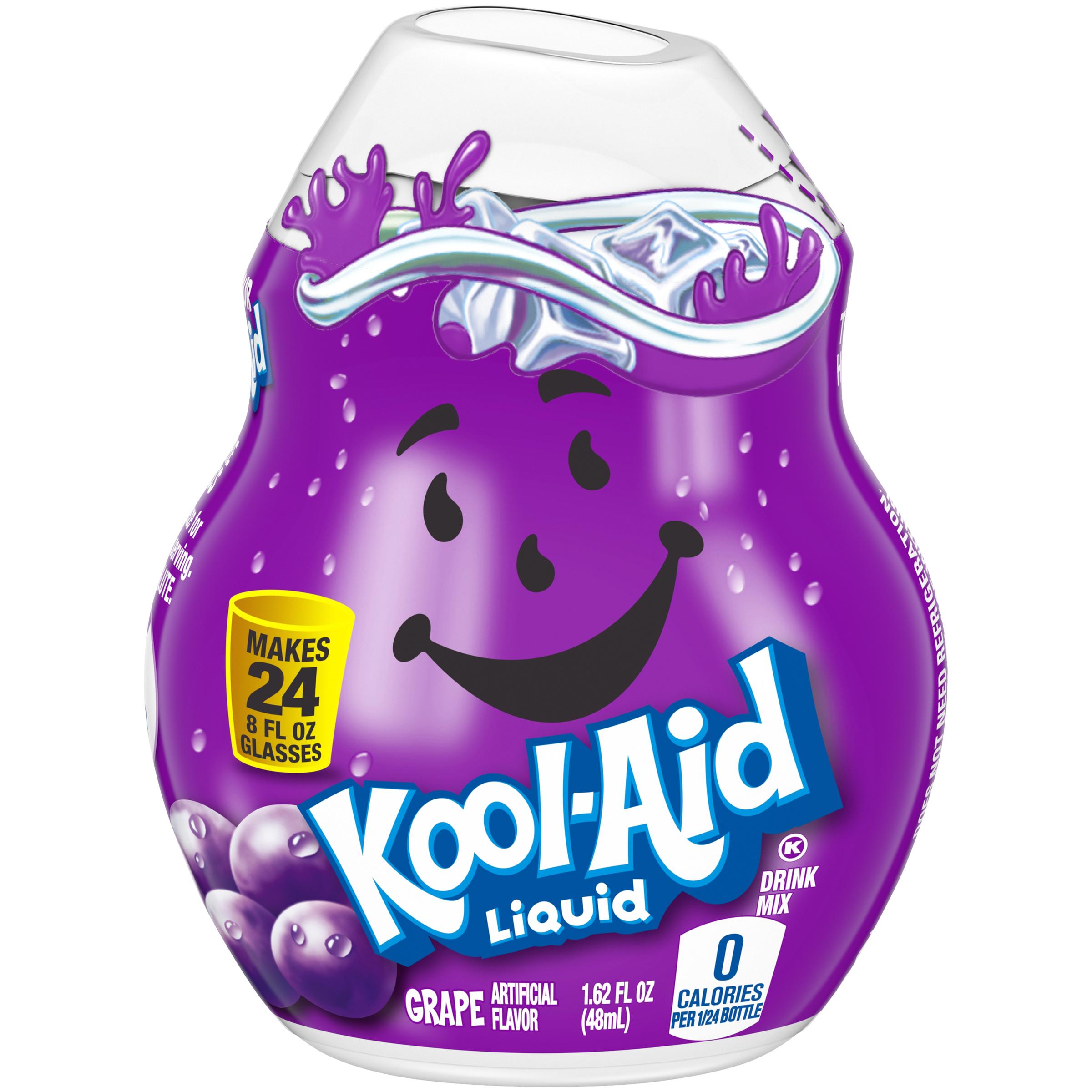 KOOL-AID Grape Liquid Drink Mix 1.62 fl oz  Bottle image