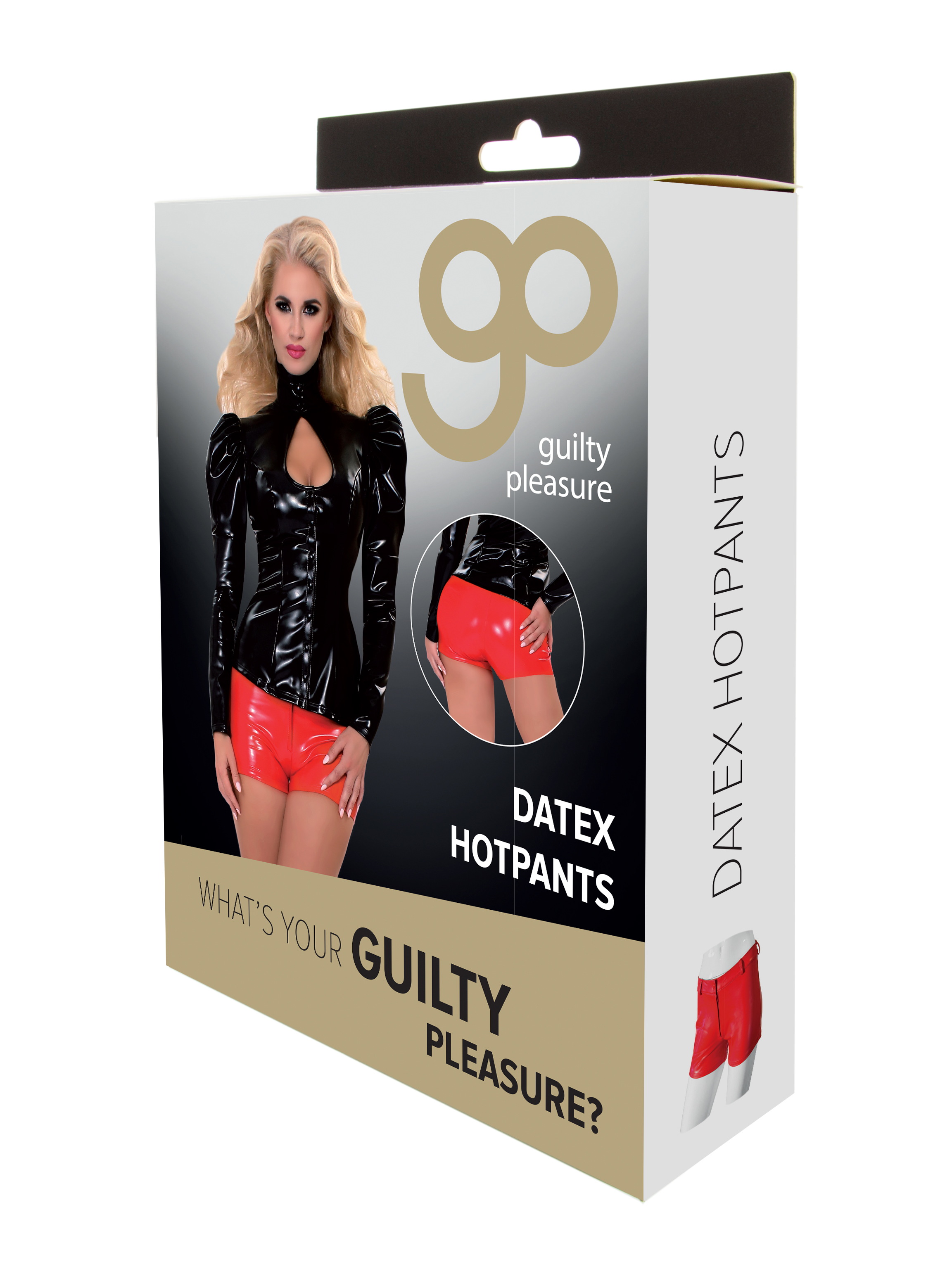 Guilty Pleasure - Datex Hotpants - XL - Red