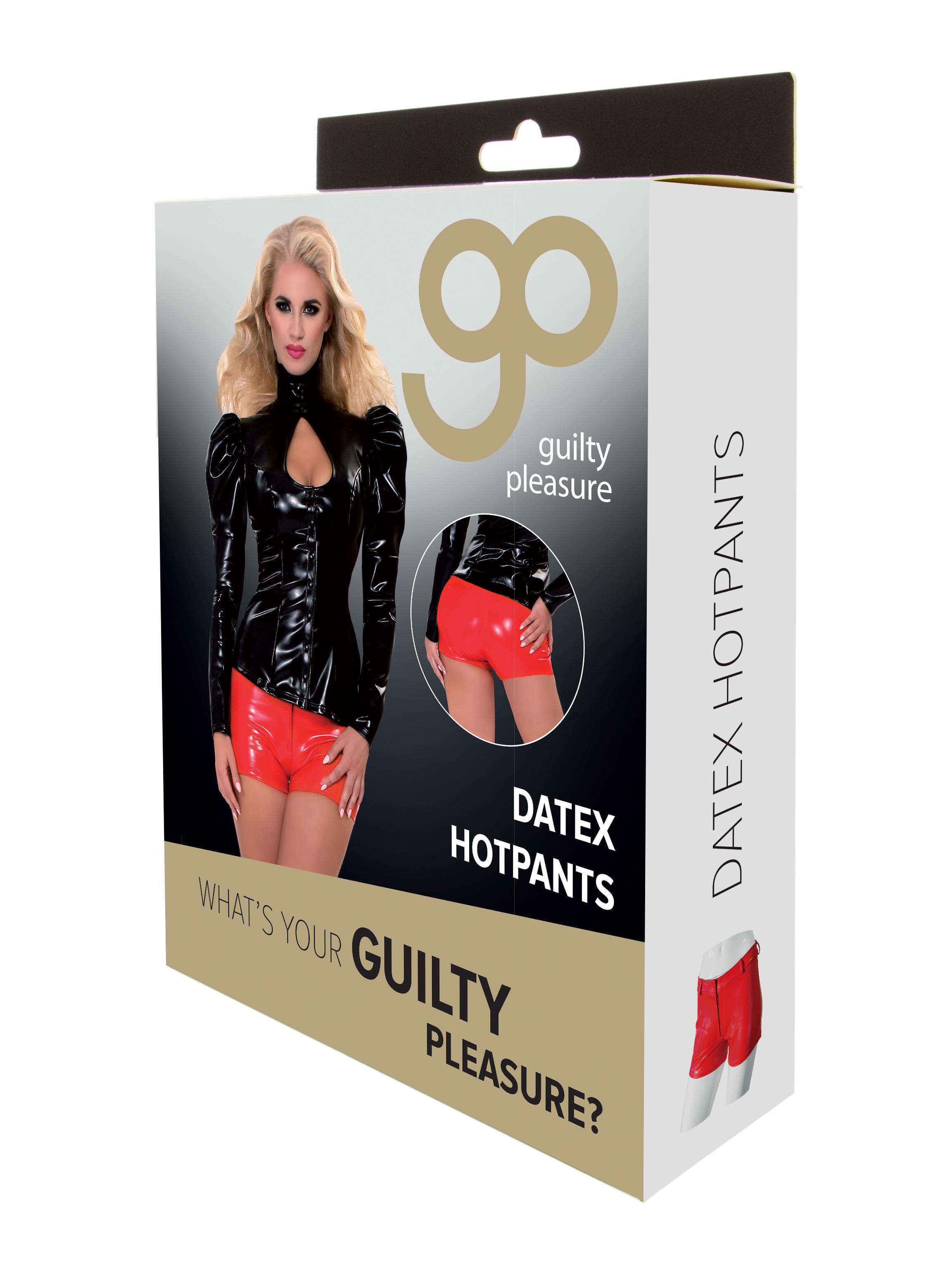 Guilty Pleasure - Datex Hotpants - S - Red