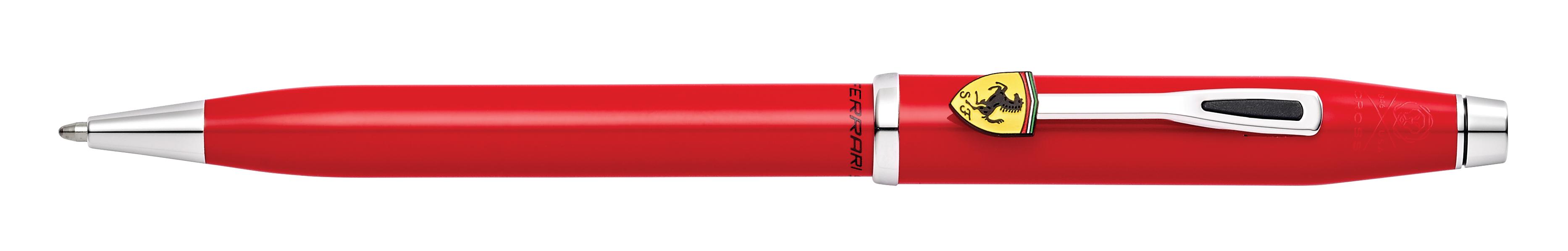 Cross Century II Collection for Scuderia Ferrari Glossy Rosso Corsa Red Lacquer Ballpoint Pen