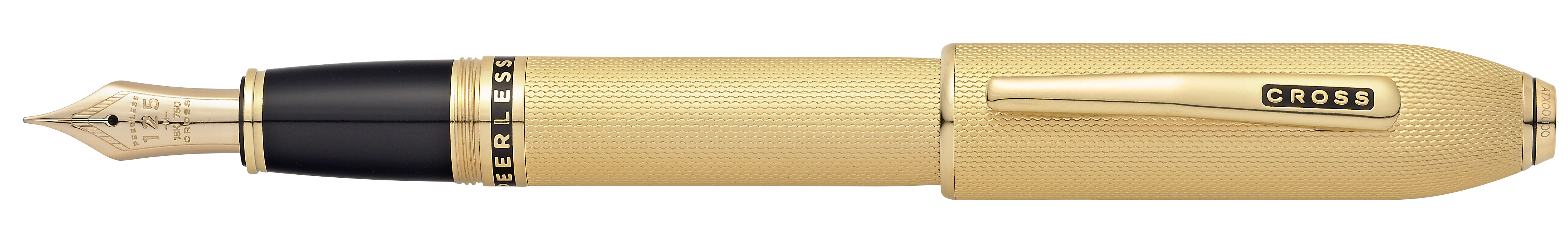 Peerless 125 23KT Gold Plated Fountain Pen