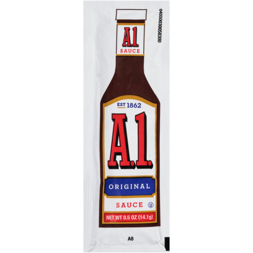A.1. Single Serve Steak Sauce, 0.5 oz. Packets (Pack of 200)