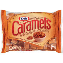 KRAFT Caramels Original 11oz Bag