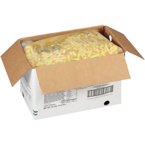 HEINZ CHEF FRANCISCO Chicken Noodle Soup, 8 lb. Bag (Pack of 4)