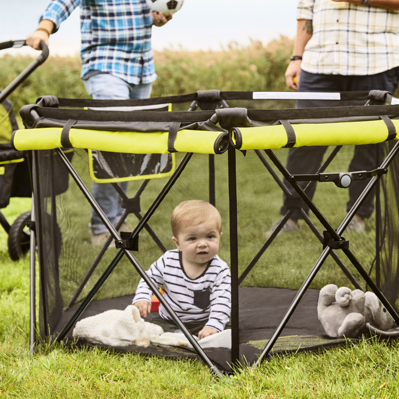Play-Away™ Portable Playard Deluxe (Adventurer) Lifestyle Photo